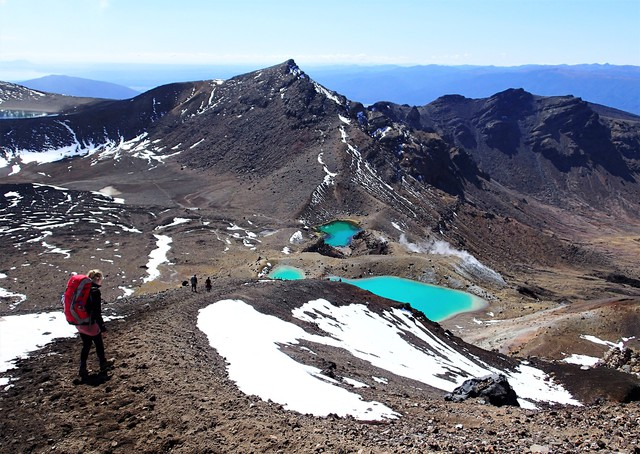 Finally the Tongariro Alpine Crossing is being managed
